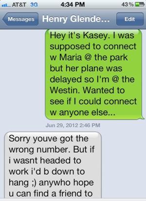 Kasey SMS