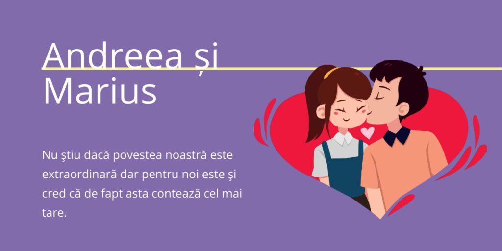 Povești de Succes - Andreea&Marius - Sentimente.ro